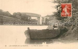 AK / Ansichtskarte Saint Samson sur Rance Pont de Lessard Bords de la Rance Saint Samson sur Rance