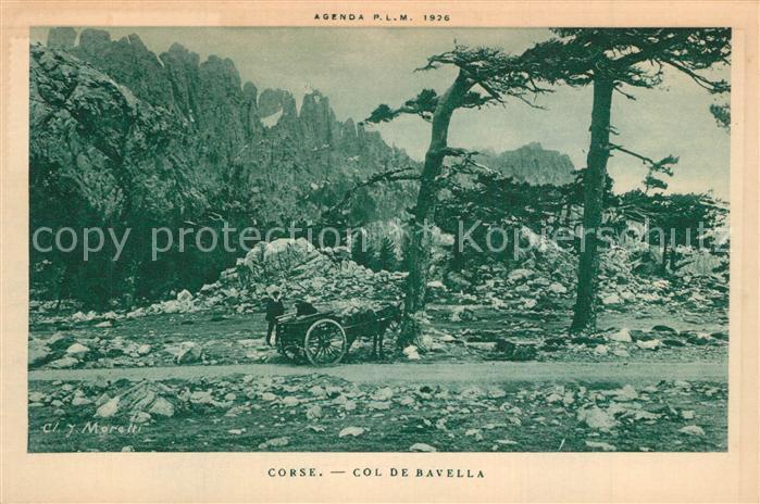 AK / Ansichtskarte Corse_Ile_de Col de Bavella Corse_Ile_de 0