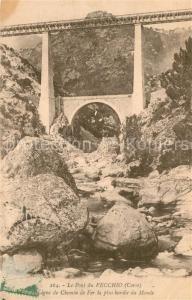 AK / Ansichtskarte Vivario Pont du Vecchio Ligne de Chemin de Fer Vivario