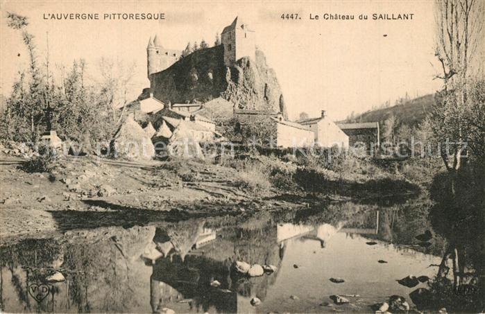 AK / Ansichtskarte Andelat Chateau du Saillant Andelat 0