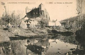 AK / Ansichtskarte Andelat Chateau du Saillant Andelat
