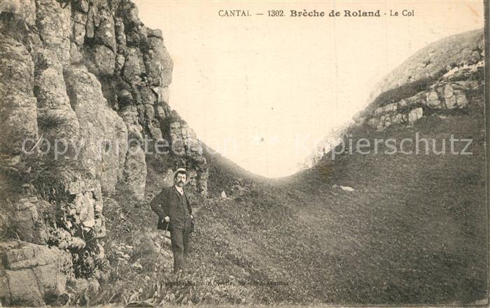 AK / Ansichtskarte Breche_de_Roland_Cantal Montagnes Pyrenees  0