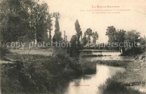 AK / Ansichtskarte Levignac_Toulouse La Chaussee et les bords de la Save Levignac Toulouse