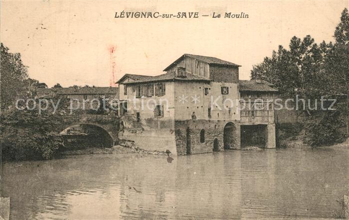 AK / Ansichtskarte Levignac_Toulouse Moulin bords de la Save Levignac Toulouse 0