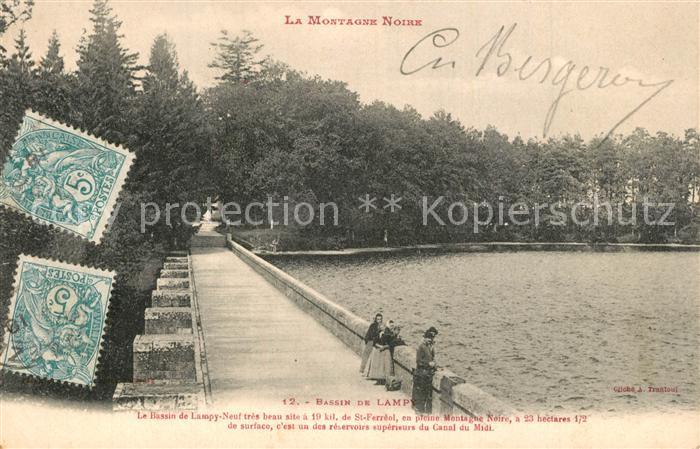 AK / Ansichtskarte Saissac Bassin de Lampy Montagne Noire Saissac 0