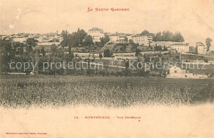 AK / Ansichtskarte Montrejeau_Haute Garonne Vue generale Montrejeau Haute Garonne 0
