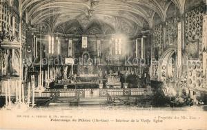 AK / Ansichtskarte Pibrac Interieur de la vieille eglise Pelerinage Pibrac
