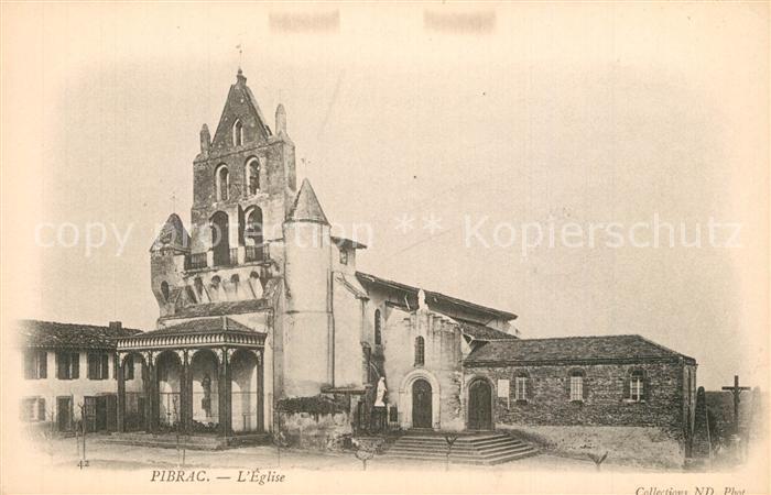 AK / Ansichtskarte Pibrac Eglise Pibrac 0
