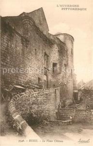 AK / Ansichtskarte Besse et Saint Anastaise Vieux Chateau Besse et Saint Anastaise