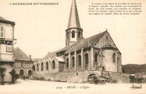AK / Ansichtskarte Besse et Saint Anastaise Eglise Besse et Saint Anastaise