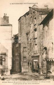AK / Ansichtskarte Besse et Saint Anastaise Maison de la Reine Margo XVe siecle Besse et Saint Anastaise