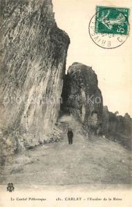AK / Ansichtskarte Carlat Escalier de la Reine Carlat