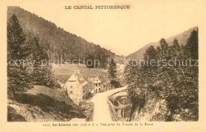 AK / Ansichtskarte Le_Lioran Vue prise du Tunnel de la Route Le_Lioran