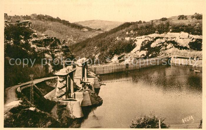 AK / Ansichtskarte Brommat Barrage de Sarrans Vallee de la Truyere Brommat 0