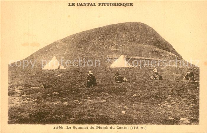 AK / Ansichtskarte Plomb_du_Cantal_Montagne Le sommet  0