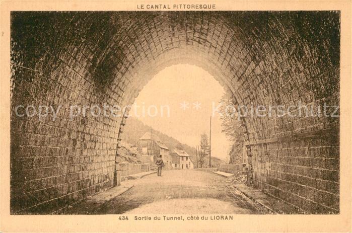 AK / Ansichtskarte Le_Lioran Sortie du Tunnel Le_Lioran 0
