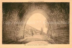 AK / Ansichtskarte Le_Lioran Sortie du Tunnel Le_Lioran