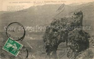 AK / Ansichtskarte Thiezac Chaos de Casteltinet Port du Lion Parc des Volcans d Auvergne Thiezac