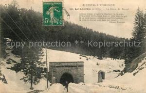 AK / Ansichtskarte Le_Lioran en hiver Route du Tunnel Le_Lioran
