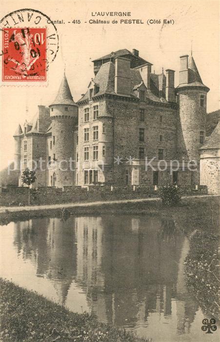 AK / Ansichtskarte Polminhac Chateau de Pestel Polminhac 0