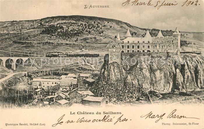 AK / Ansichtskarte Andelat Chateau de Sailhans Andelat 0