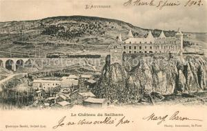 AK / Ansichtskarte Andelat Chateau de Sailhans Andelat