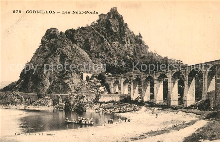 AK / Ansichtskarte Cornillon_Saint_Etienne Les neuf ponts Cornillon_Saint_Etienne 0