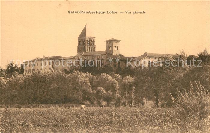 AK / Ansichtskarte Saint_Rambert_sur_Loire Vue generale  0