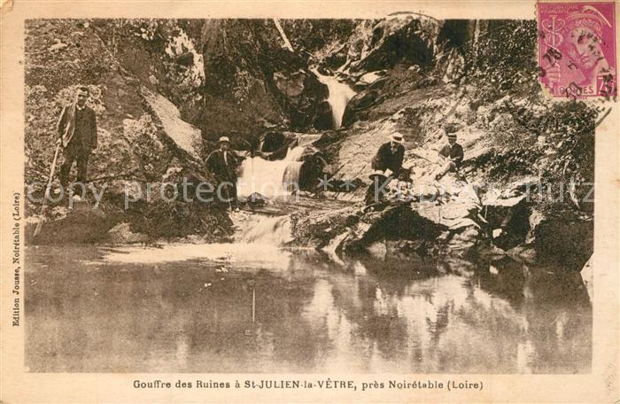 AK / Ansichtskarte Saint Julien la Vetre Gouffre des Ruines Saint Julien la Vetre 0
