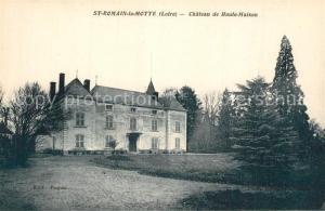AK / Ansichtskarte Saint Romain la Motte Chateau de Haute Maison Saint Romain la Motte