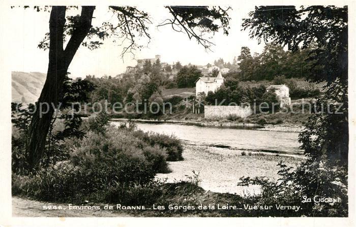 AK / Ansichtskarte Commelle Vernay Vue sur Vernay Les Gorges de la Loire Commelle Vernay 0
