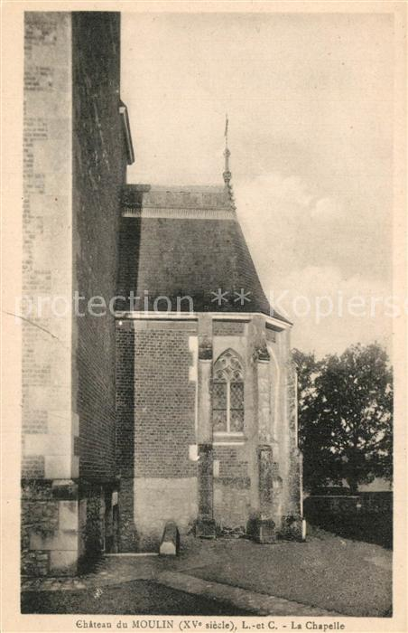 AK / Ansichtskarte Lassay sur Croisne Chateau du Moulin la chapelle Lassay sur Croisne 0