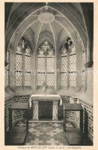 AK / Ansichtskarte Lassay sur Croisne Chateau du Moulin la chapelle Lassay sur Croisne