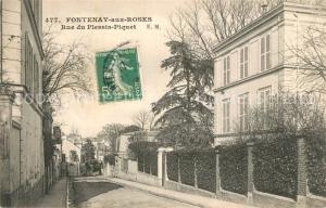 AK / Ansichtskarte Fontenay aux Roses Rue du Plessis Piquet Fontenay aux Roses