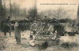 AK / Ansichtskarte Elincourt Sainte Marguerite Au travail Elincourt Sainte Marguerite