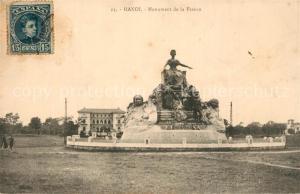 AK / Ansichtskarte Hanoi Monument de la France Hanoi