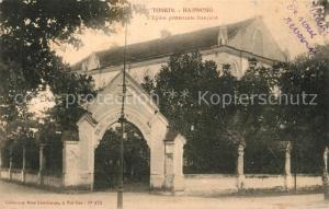 AK / Ansichtskarte Haiphong Tonkin Eglise Protestant Haiphong