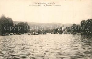AK / Ansichtskarte Beaulieu_Dordogne Les Joutes Beaulieu Dordogne