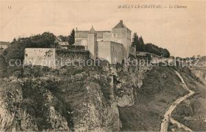 AK / Ansichtskarte Mailly le Chateau Chateau Mailly le Chateau