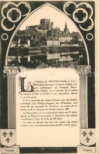 AK / Ansichtskarte Montrichard Chateau Montrichard