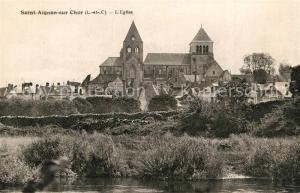 AK / Ansichtskarte Saint Aignan_Loir et Cher Eglise Saint Aignan Loir et Cher