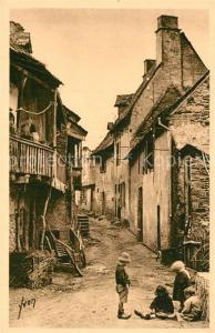 AK / Ansichtskarte Argentat Une vieille rue Argentat