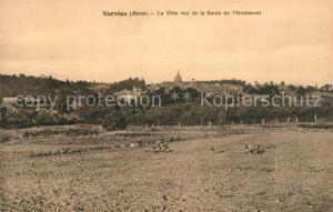 AK / Ansichtskarte Vervins La ville vue de la Route de Montcornet Vervins