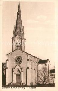 AK / Ansichtskarte Saint Martin d_Aout Eglise Kirche Saint Martin d Aout