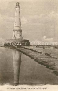 AK / Ansichtskarte Cordouan_Ile_de Le Phare Leuchtturm