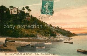 AK / Ansichtskarte Port_Saint Hubert_Rance Port Bateaux Collection Les Bords de la Rance