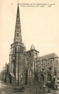 AK / Ansichtskarte Treguier_Cotes_d_Armor Cathedrale Treguier_Cotes_d_Armor