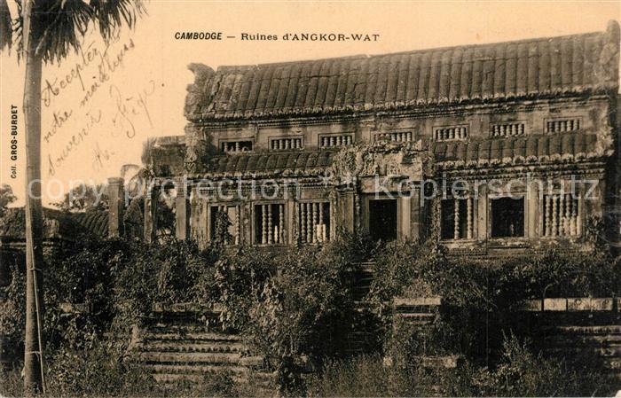 AK / Ansichtskarte Angkor_Kambodscha Ruines Angkor Wat  0