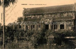AK / Ansichtskarte Angkor_Kambodscha Ruines Angkor Wat