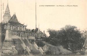 AK / Ansichtskarte Kambodscha Le Pnom Pnom Penh Kambodscha